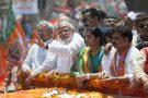 Narendra Modi files nomination papers in Varanasi, India.