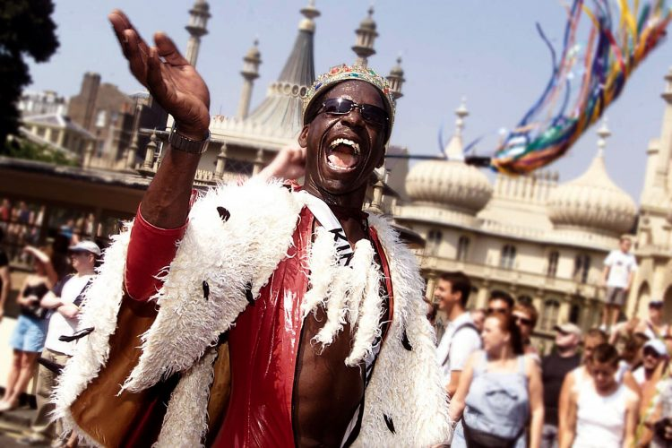 Brighton Pride the largest LBGT festival in the UK © Terry Applin