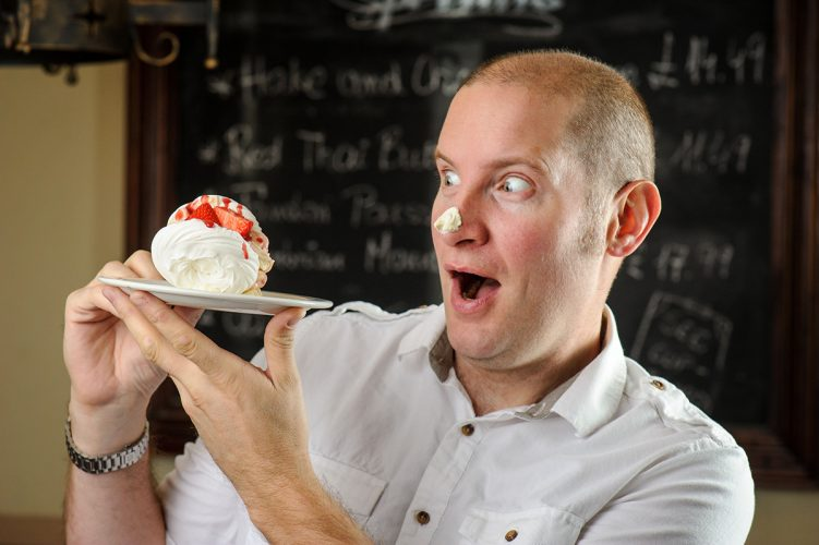 TV British Bake Off's Richard Gibson.