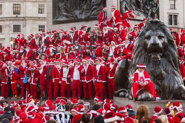 Santa Con Trafalgar Square