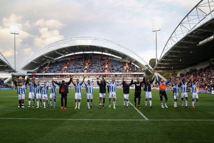 Huddersfield Town v Derby County - 22nd October 2016.