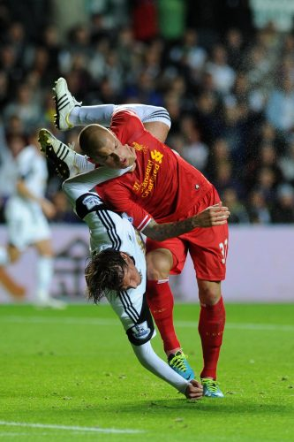 Barclays Premier league, Swansea city v Liverpool