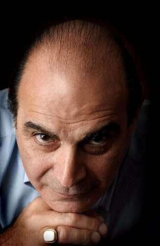 David Suchet in a departure from his role as Poirot, this portrait was taking prior to his appearance as Gregor Antonescu in the Terence Rattigan play Man and Boy © Terry Applin