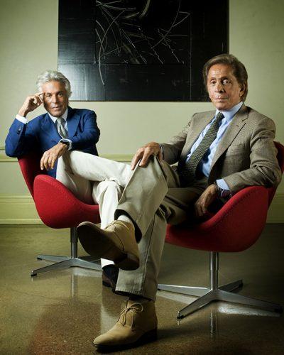 Giancarlo Giammetti & Valentino