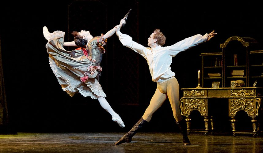 The Mayerling by Kenneth McMillan The Royal Ballet at The Royal Opera House, Covent Garden, London, Great Britain rehearsals 26th April 2017