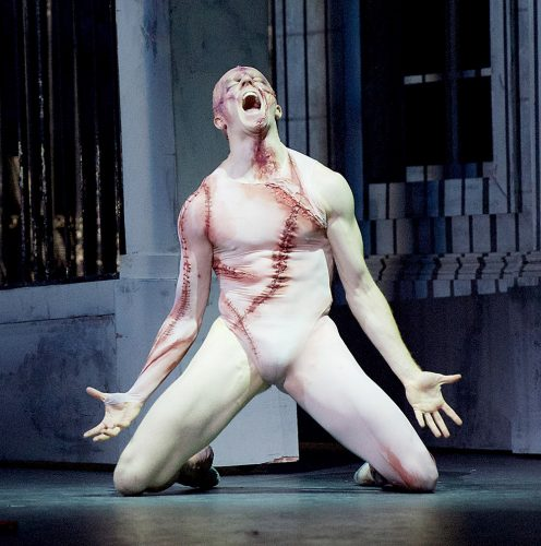 Frankenstein The Royal Ballet at The Royal Opera House, Covent Garden, London, Great Britain 3rd may 2016 Pre-general rehearsal Choreography by Liam Scarlett