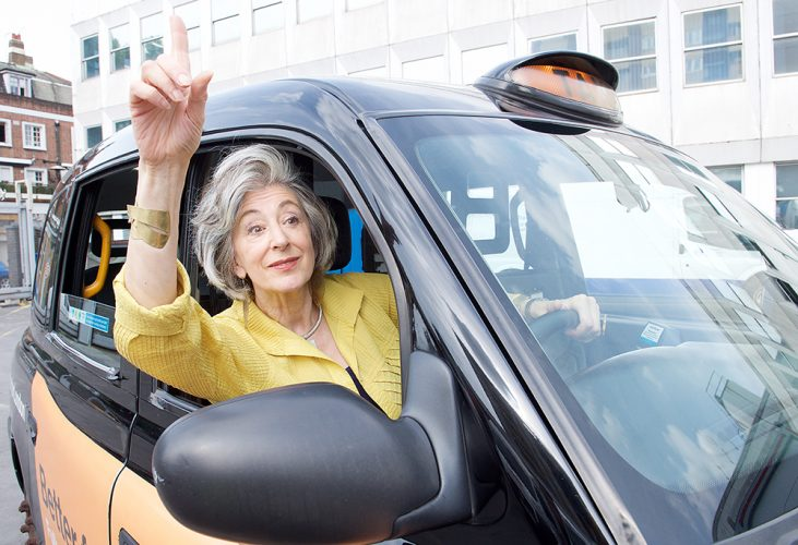 Maureen Lipman Photoshoot at Public Carriage Office, 15 Penton St, London N1 9PU4th July 2017