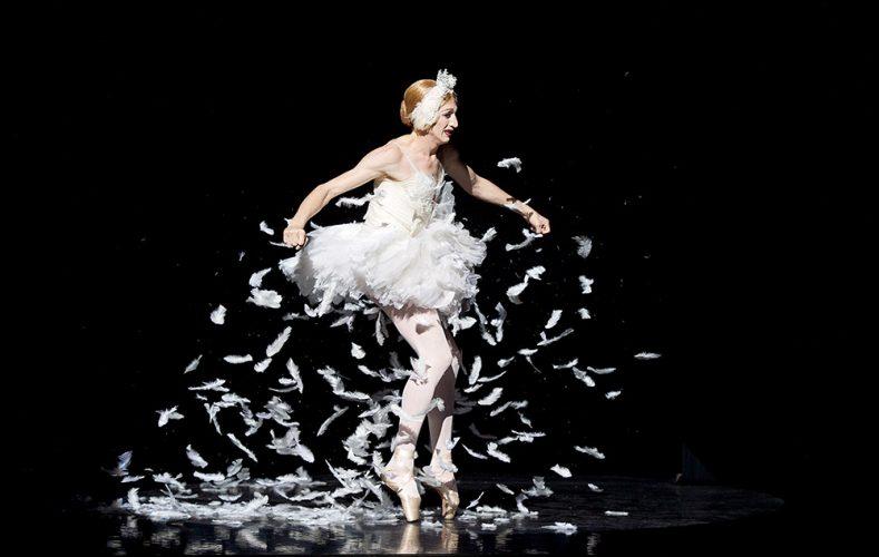 Les Ballets Trockadero de Monte Carlo at the Peacock Theatre, London, Great Britain press photocall 16th September 2015