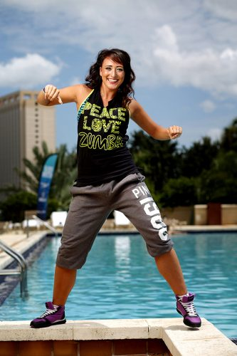 Zumba Instructor Kylee McElkerney